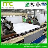 Película de PVC Color Blanco utilizado para el PVC plastificado papel/cartón