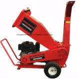赤いカラー快活なボディ庭の心配15 HP 4インチの木製の砕木機