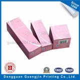 Boîte en carton de papier d'art pour l'empaquetage cosmétique