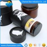瓶の包装のためのカスタム黒いペーパークラフトのボール紙の筒