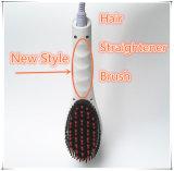 Escova alisadora de cabelo da melhor qualidade com LCD
