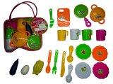 Mini cocina que cocina conjunto de juguete para niños