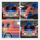 Kasteel Bouncy van de Vrachtwagen van de brand het Opblaasbare voor Verkoop