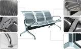 Armrestが付いているステンレス鋼の公共の椅子の待っている椅子