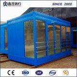 Acampamento modular do dormitório da casa do recipiente para o uso provisório