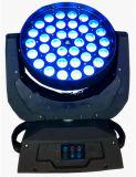 36*15W RGBWA (UV) 6 in 1 Was die van het Gezoem HoofdLicht bewegen