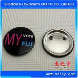 Значок кнопки печатание логоса значка Tinplate изготовленный на заказ