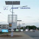 luz de calle solar de la batería de litio de los 7-12m LED