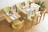 Alta qualidade acolhedor acolhedor chique interior e exterior Coffee Shop Table and Chair Set