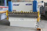Máquina de dobra hidráulica extensamente apreciada da placa do CNC do tipo Wc67y 400*2500 de Harsle