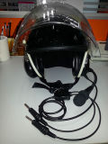 Noise Cancelling Aviation Helmet Headset for Paramotor