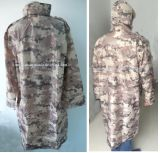 Hochwertiger neuer Entwurfs-Regen-Mantel mit PU-Beschichtung