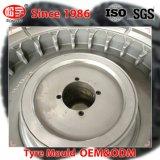 Dos piezas de acero 12.00-20 personalizada neumático radial del molde para desactivar el neumático de carretera