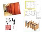 Partition de toilette de HPL et constructeur modulaires d'accessoires de nylon