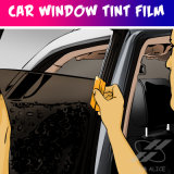 جديدة وصول سيّارة داخليّة أرجوانيّة زرقاء قابل للنقل [كر ويندوو] فيلم