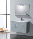 Arredo Bagno Giallo PVC / Cabina de baño delgada / Gabinete de baño de esquina montado en la pared