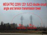 Megatro 220кв 2D1 Sjc3 Двойной угол и натяжения цепи трансмиссии в корпусе Tower
