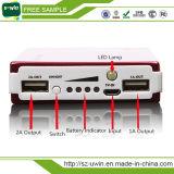 Double USB 10000mAh Universal Solar Power Bank pour téléphone portable