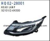 Lampada della testa di alta qualità dei ricambi auto di KIA per KIA K2'15 92101-4X500/92102-4X500