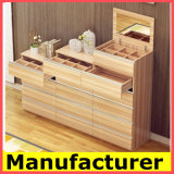 現代安い小型木製の整理箪笥