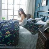 Coperchio differente del Comforter della flanella dei reticoli di stile moderno del panno morbido di stato dell'aria