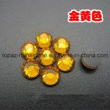 Rhinestone cristalino cristalino de DMC Hotfix para los zapatos (grado de SS10 Topaz/3A)