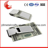 2016 Hot Selling Brass Materials Blank Metal Money Clip