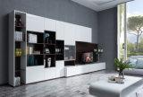 Kundenspezifisches Fabrik-Melamin neuer hölzerner moderner Fernsehapparat-Standplatz