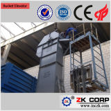 Elevador de cubeta estável da operação