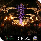 Im Freien Handelsweihnachtsstraßenlaterne-Dekoration