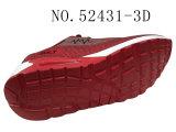 Dame-u. Mann-Schuhe PU-Outsole beiläufige Schuh-auf lagerschuhe