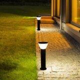 La Luz solar jardín de césped de exterior LÁMPARA DE LED