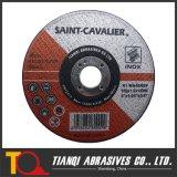 Moagem abrasivos e roda de corte para Metal, Disco de corte de aço inoxidável