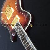 Prs solide de style flammé Stripe Matériel argenté guitare électrique (GP-29)