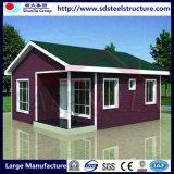 신식 쉬운 조립된 강철 구조물 조립식 이동할 수 있는 집