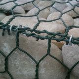 Casella rivestita di Gabion del collegare del PVC