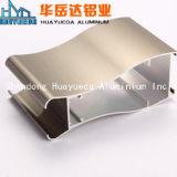 Perfil de extrusão de alumínio Fabricação eletroforese de ouro para a criação de perfil de alumínio