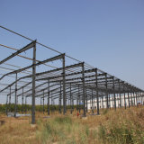 Prefarbicatedの鉄骨フレームの構造の建物