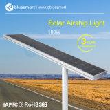 Installazione facile 100W tutto in un indicatore luminoso di via solare Integrated