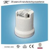 Portalámparas de porcelana E40 con soporte