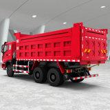 대형 트럭 HOWO 트럭에 의하여 사용되는 쓰레기꾼 336HP 20ton 팁 주는 사람 트럭