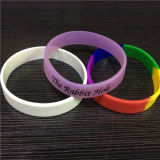 La Cina Professional Manufacture Silicone Bracelet per Promotion Gift