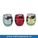 Os titulares de velas decorativas de vidro