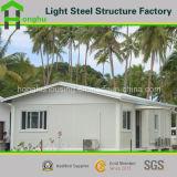 Casa prefabricada de la casa prefabricada de la alta calidad de la casa del chalet de lujo flexible