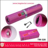고전압을%s 가진 분홍색 전자 충격 토치는 스턴 총 (TW-328)를