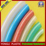 Le Japon clair de qualité industrielle de la qualité en PVC souple Fibre flexible tressé