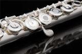 銀製のヘッドフルートのハンドメイドのフルート/良質の卸売価格