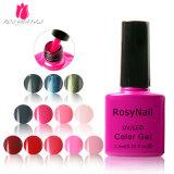 Haut Rosynails Hot Gel UV de collecte, le gel de couleur le vernis à ongles