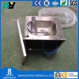 Bassin actionné par genou commercial, bassin de main actionné par genou de lavage de bassin de main d'acier inoxydable