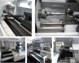 Машина Lathe CNC системы управления Cknc6150 Fanuc плоская